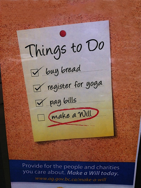 Will things to do